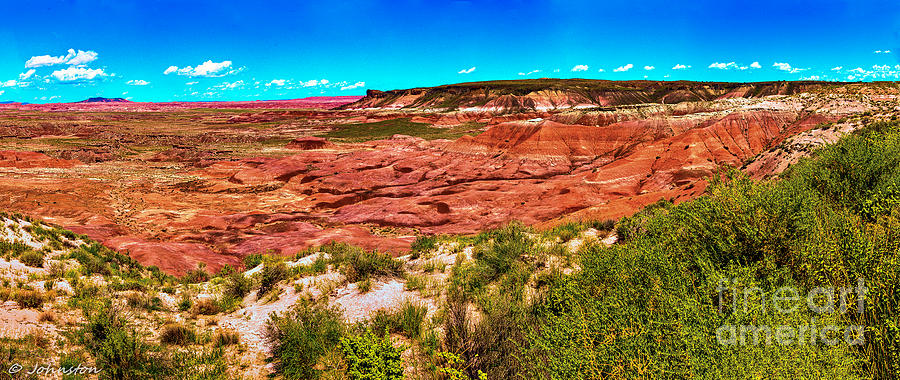 Painted Desert National Park Panorama Photograph  - Painted Desert National Park Panorama Fine Art Print