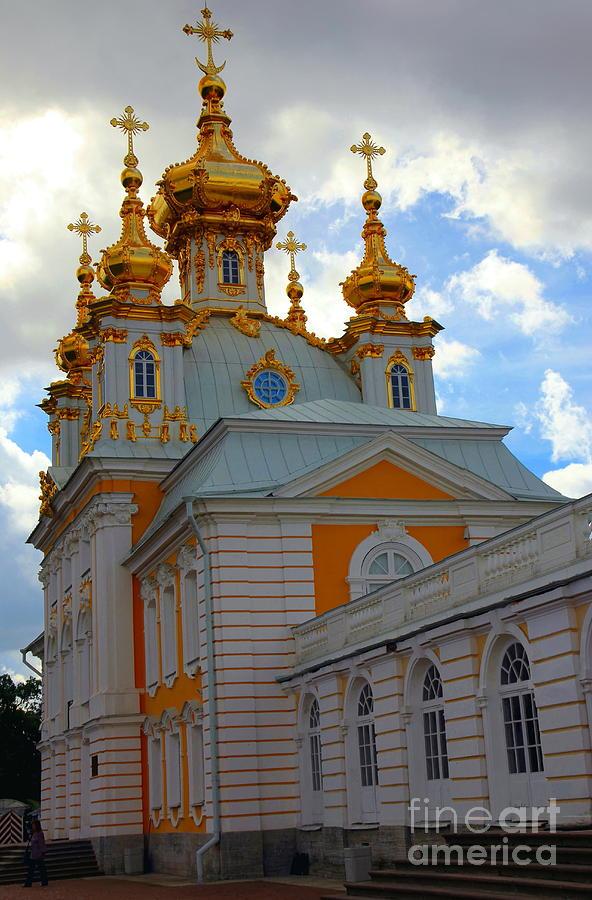 Peterhof Palace Russia Photograph