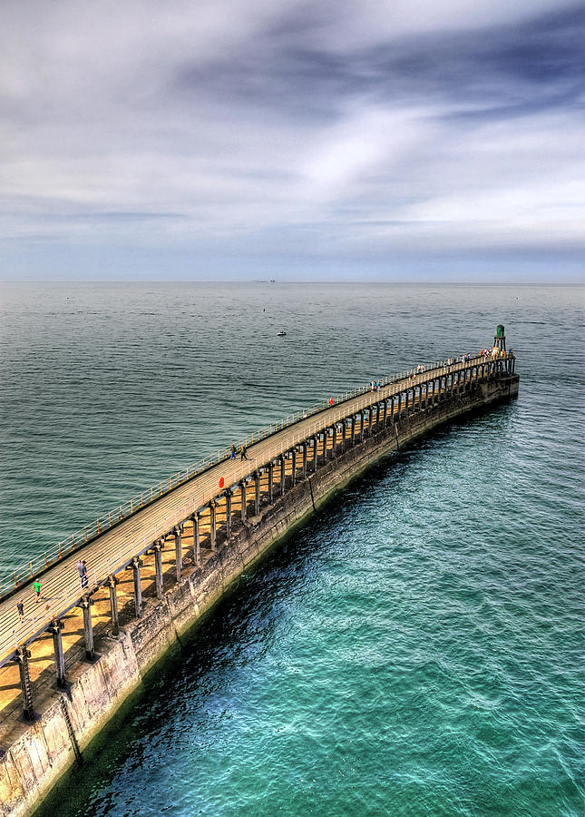 Background Photograph - Pier by Svetlana Sewell