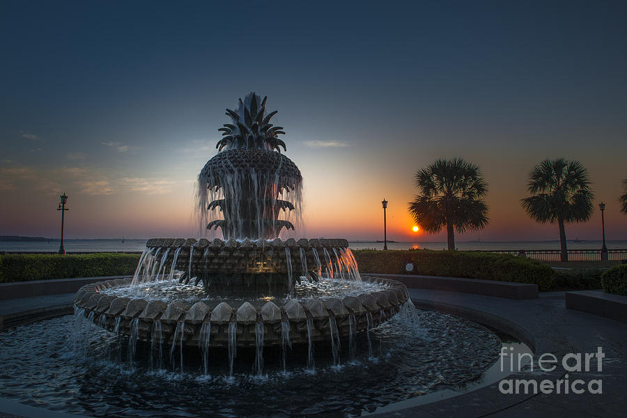 Charleston Sunrise Photograph