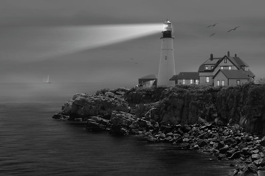 Portland Head Lighthouse Photograph  - Portland Head Lighthouse Fine Art Print