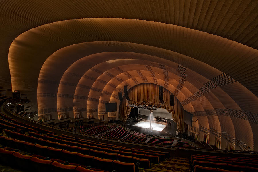 Radio City Music Hall Theatre Photograph