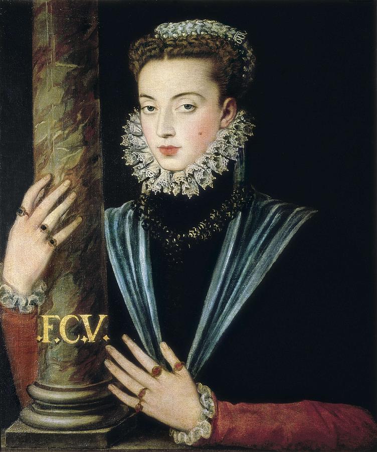 Portrait Photograph - Sanchez Coello, Alonso 1531-1588 by Everett