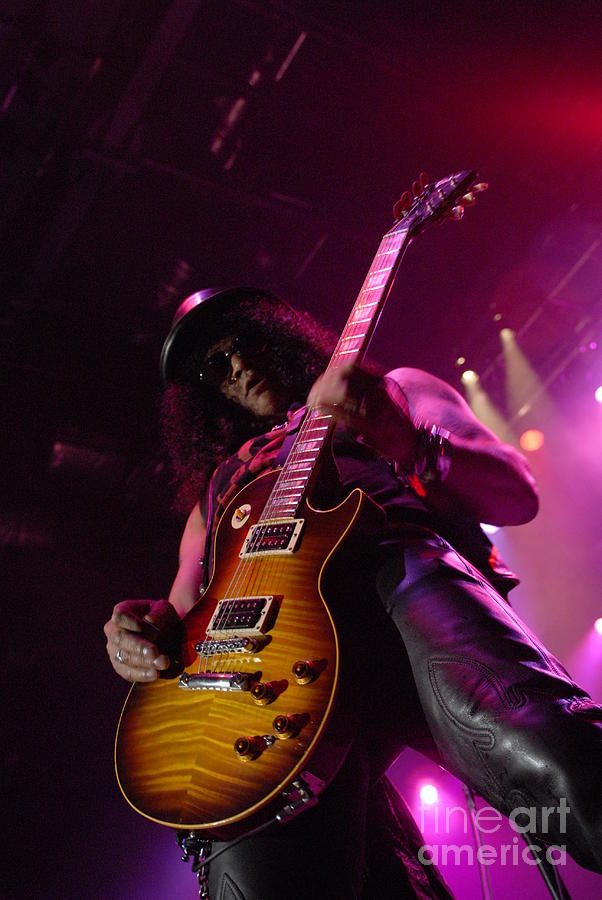 Slash Photograph  - Slash Fine Art Print