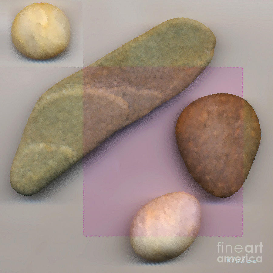 4 Stones Digital Art