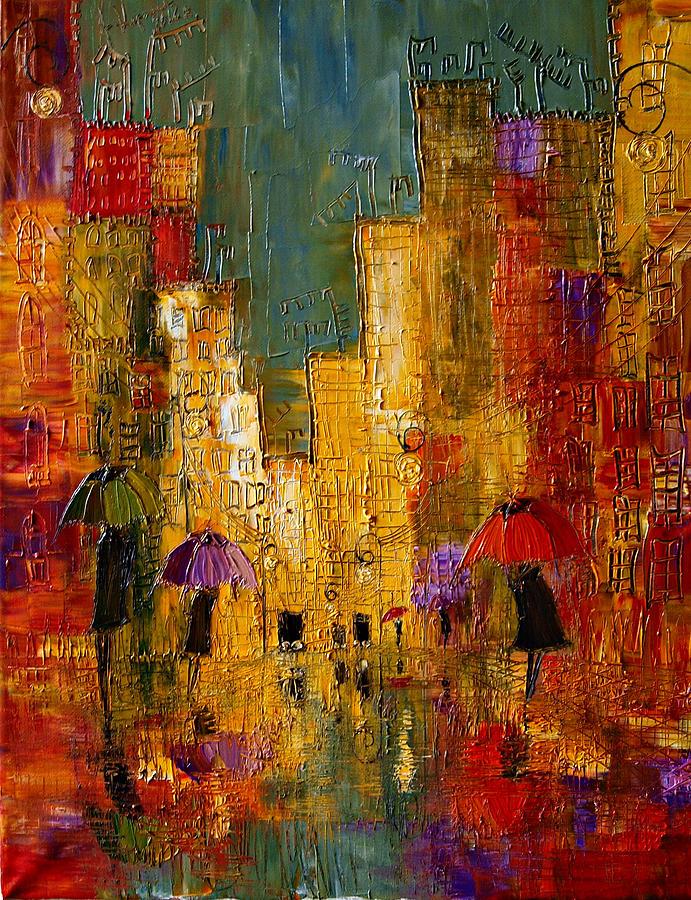 Justyna Kopania Framed Oil Paintings