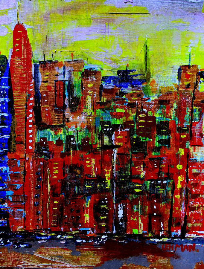 The Big Apple Painting