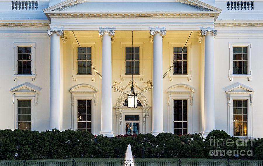 The White House Photograph  - The White House Fine Art Print
