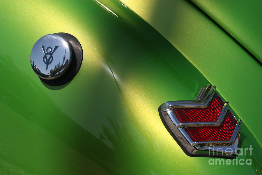 40 Ford - Tank N Tail Light-8527 Photograph  - 40 Ford - Tank N Tail Light-8527 Fine Art Print