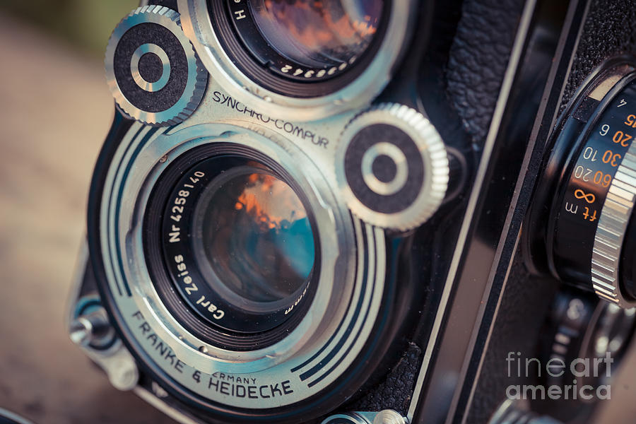 Old Camera Photograph - Old Vintage Camera by Sabino Parente