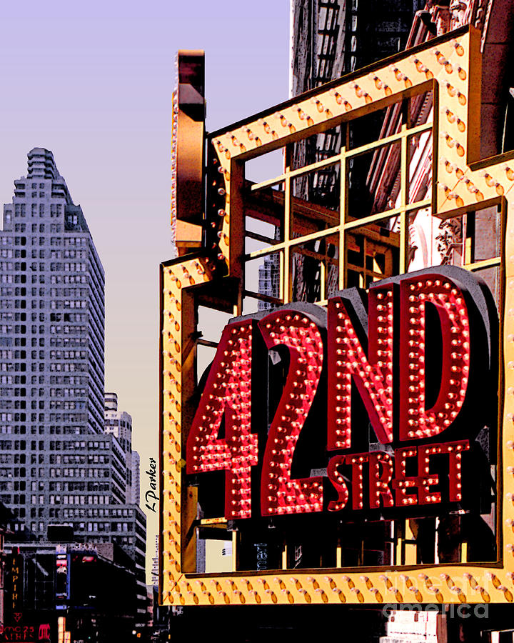42nd Street New York City Photograph