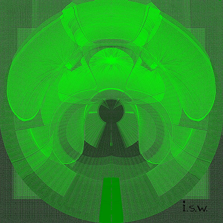 471 - The Keyhole Digital Art  - 471 - The Keyhole Fine Art Print