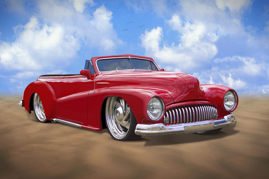 48 Buick Convertible Photograph