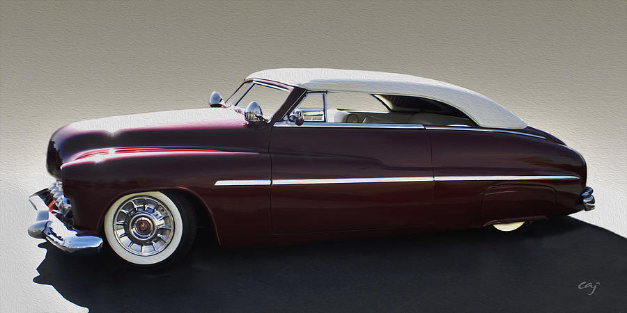 49 Merc With Carson Top Digital Art