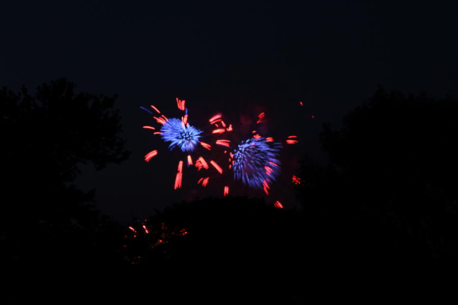 Washington Photograph - 4th Of July Fireworks - 011323 by DC Photographer