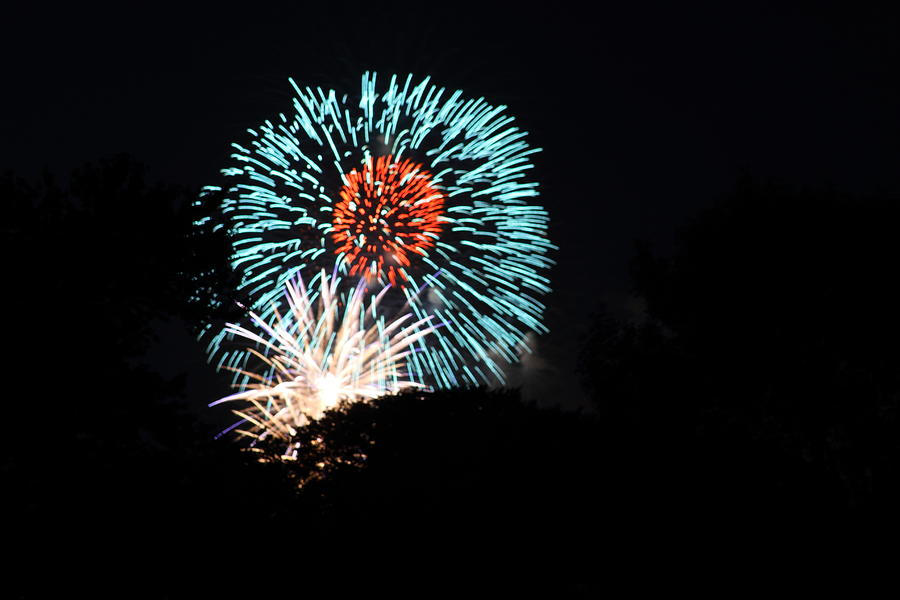 Washington Photograph - 4th Of July Fireworks - 011331 by DC Photographer