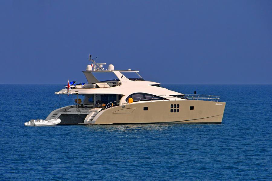 Antibes - Superyachts Of Billionaires Photograph