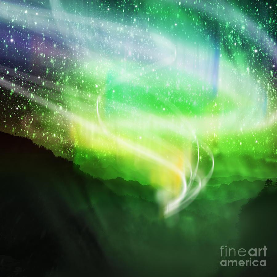 Aurora Borealis Photograph