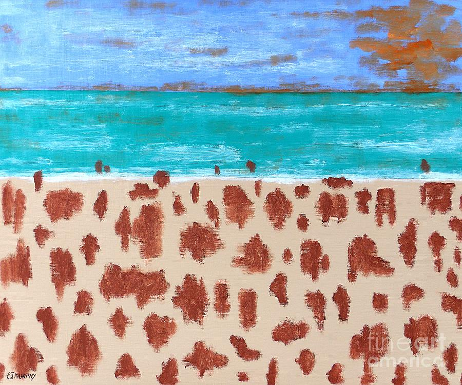 Beach Painting  - Beach Fine Art Print