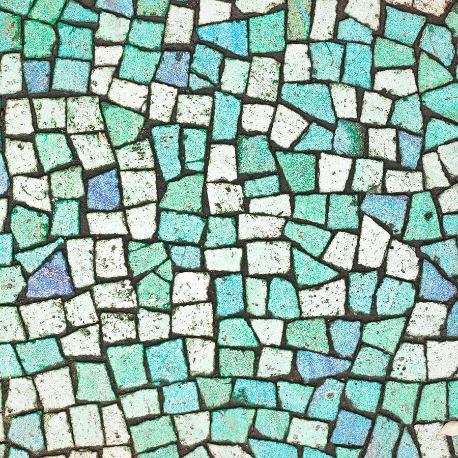 Blue Tiles Photograph