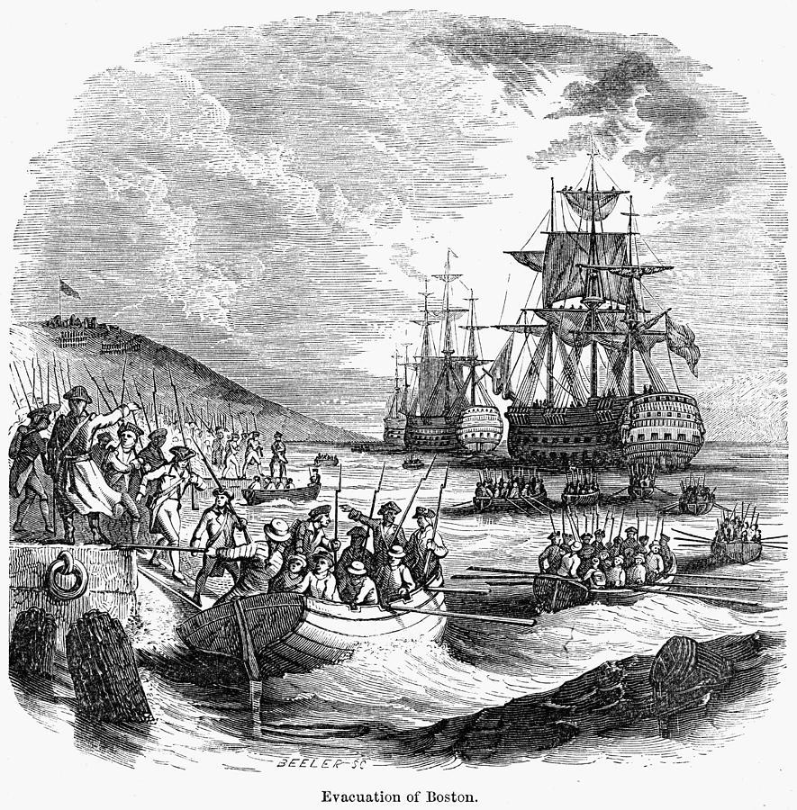Boston: Evacuation, 1776 Photograph
