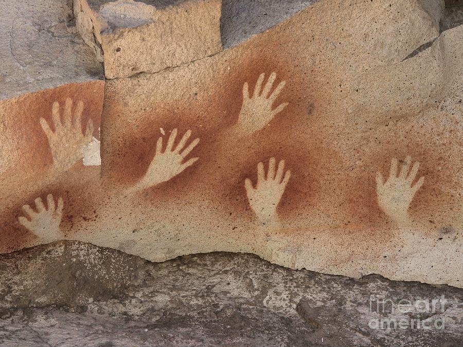 Cueva De Las Manos Photograph - Cave Of The Hands Argentina by Javier Trueba MSF SPL