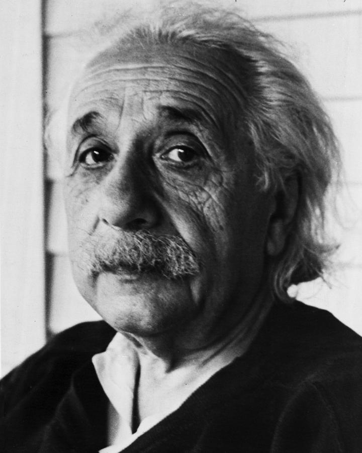 classic Photograph - Dr. Albert Einstein by Retro Images Archive