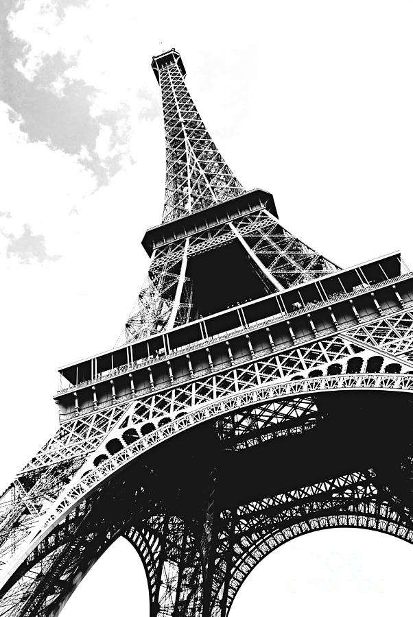 Eiffel Photograph - Eiffel Tower by Elena Elisseeva