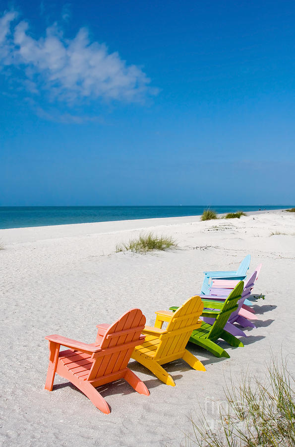 Florida Sanibel Island Summer Vacation Beach Photograph by ...