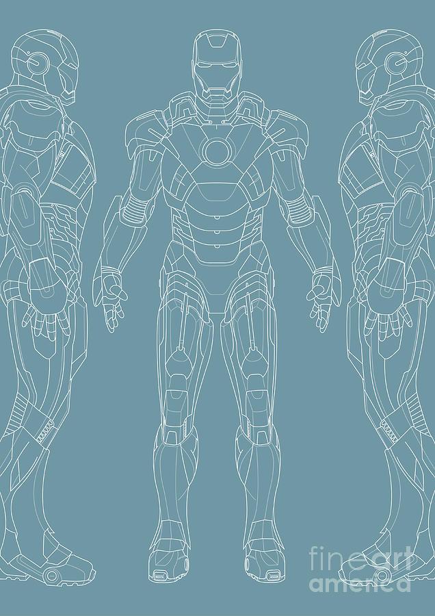 Iron Man Digital Art