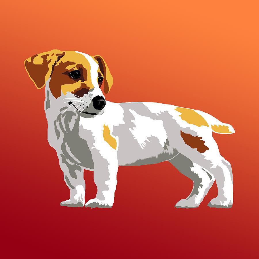 Jack Russell Terrier Digital Art