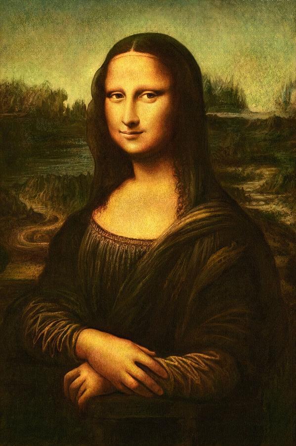 Mona Lisa Painting by Leonardo Da Vinci Da Vinci Mona Lisa