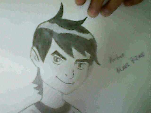 Ben10  Drawing - 5 Of 10 by Maaz Ali Nizamani