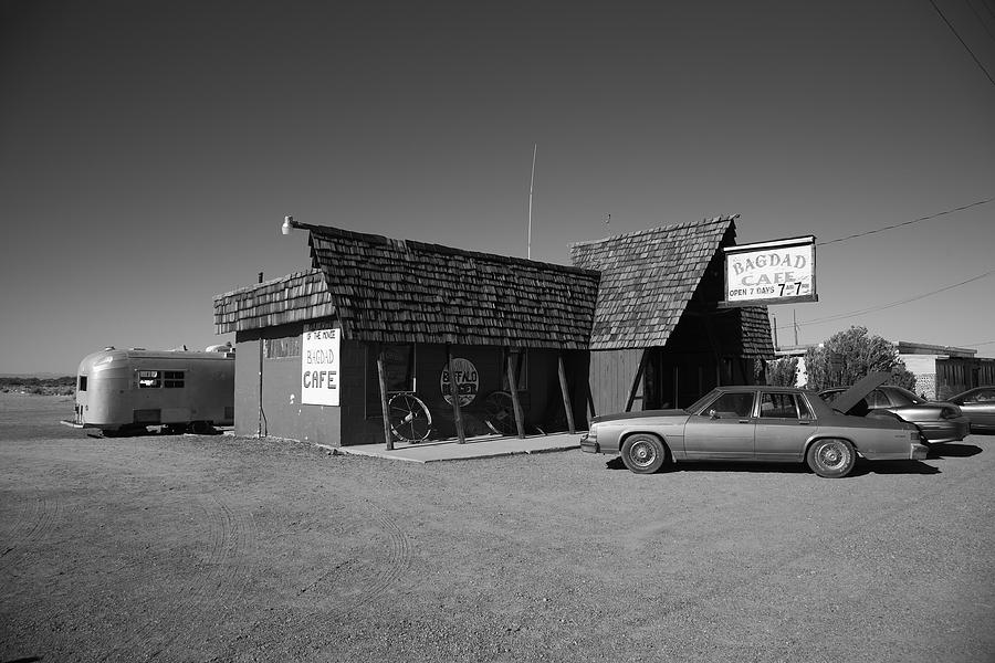 Route 66 - Bagdad Cafe Photograph  - Route 66 - Bagdad Cafe Fine Art Print