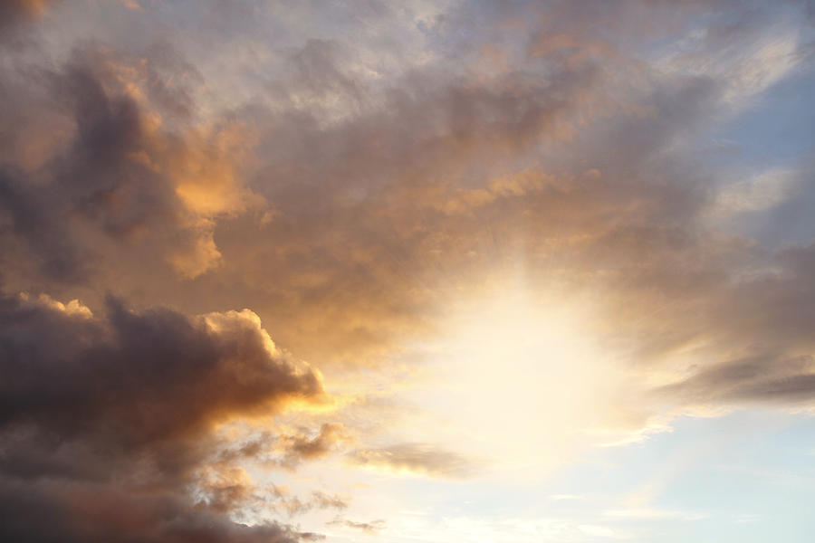Beautiful Photograph - Sky by Les Cunliffe
