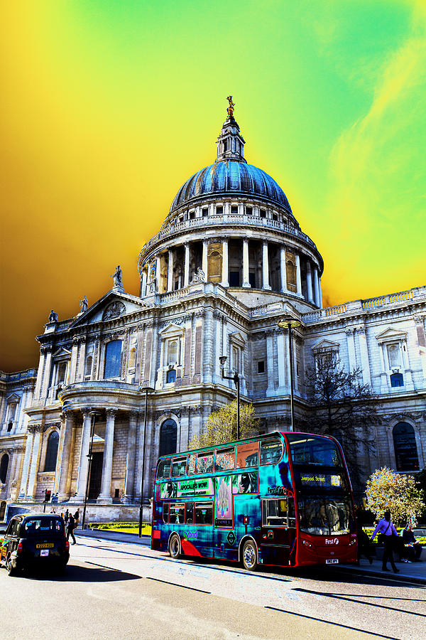 St Pauls Cathedral London Art Digital Art