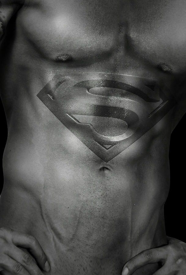 Superman  Photograph  - Superman  Fine Art Print