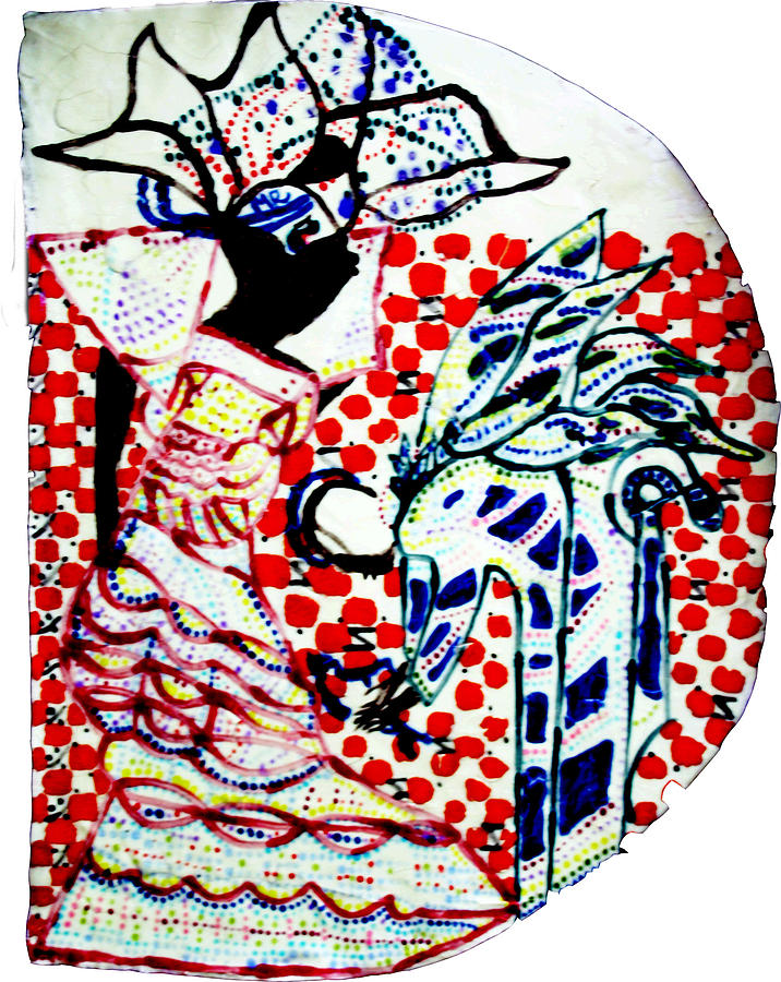 The Annunciation Ceramic Art
