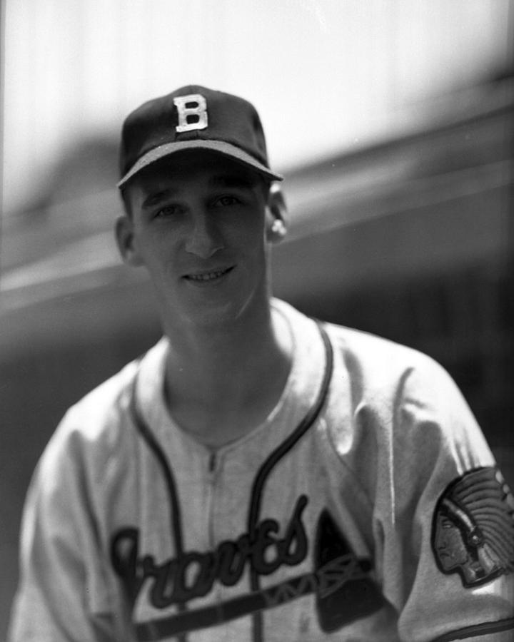 Warren Spahn Photograph