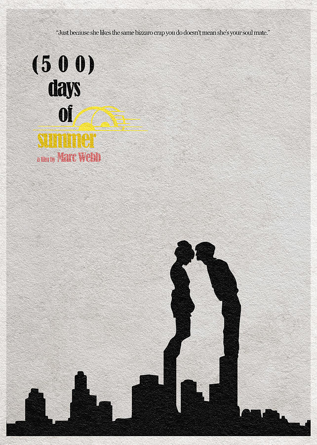 500 Days Of Summer Digital Art by Ayse Deniz