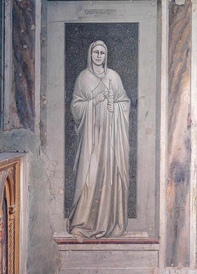Vertical Photograph - Italy, Veneto, Padua, Scrovegni Chapel by Everett