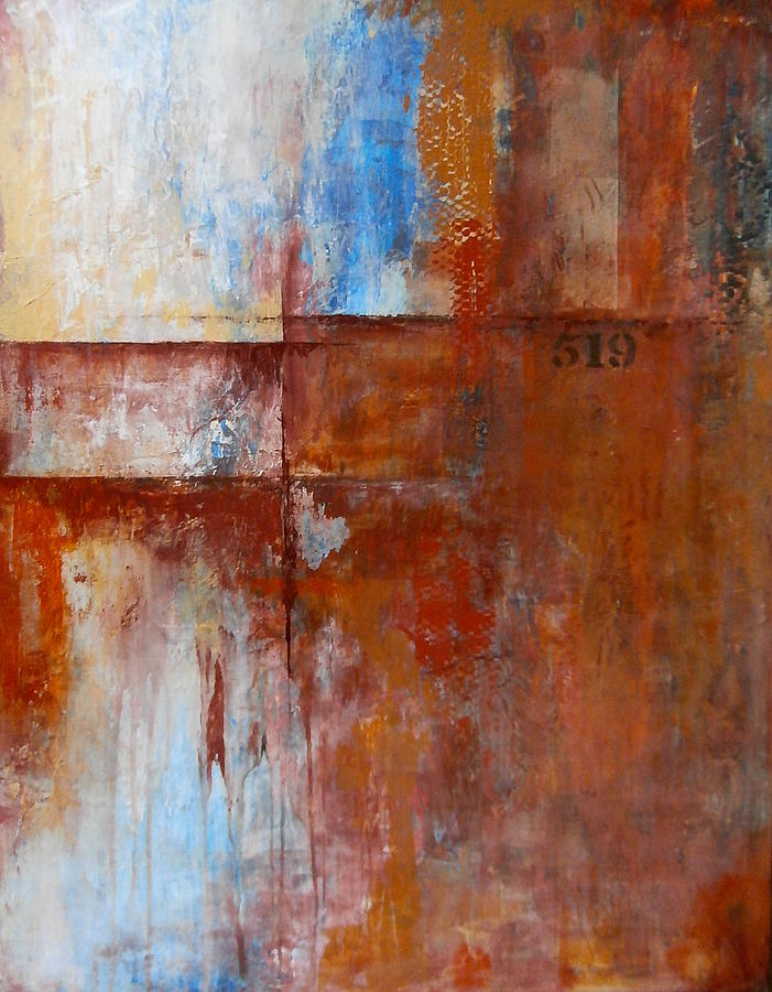 Abstract Painting - 519 by Buck Buchheister