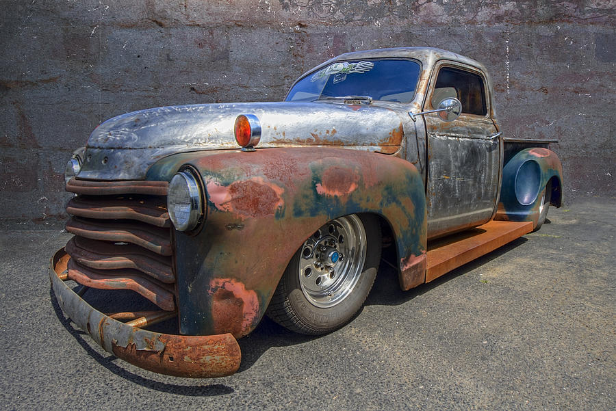 52 Chevy Truck Photograph