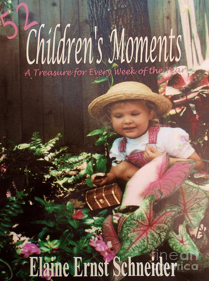 Devotional Photograph - 52 Childrens Moments - Book Cover by Eloise Schneider