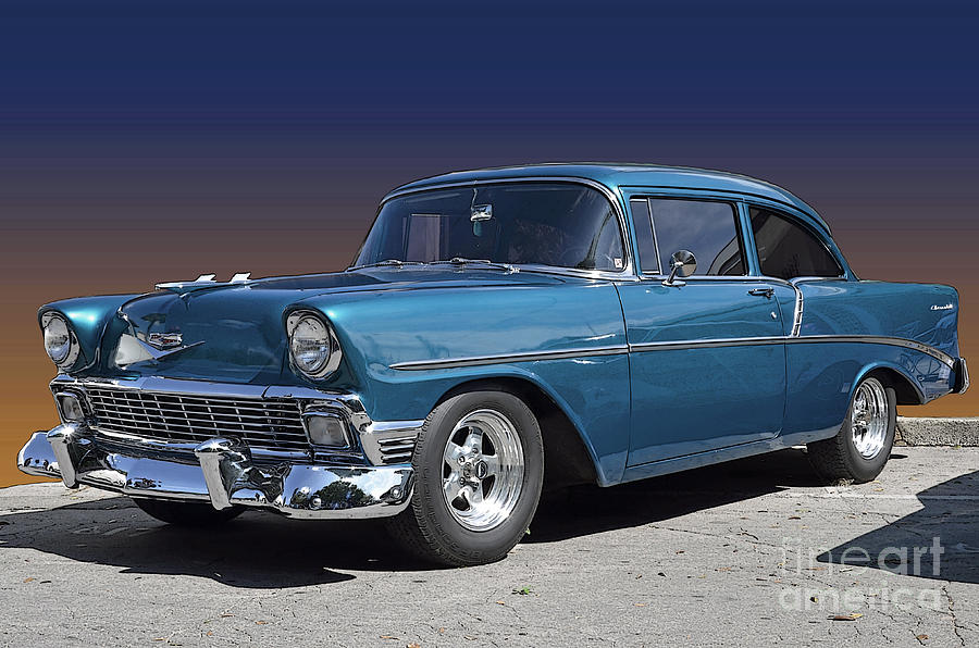 56 Chevy is a photograph by Robert Meanor which was uploaded on March ...