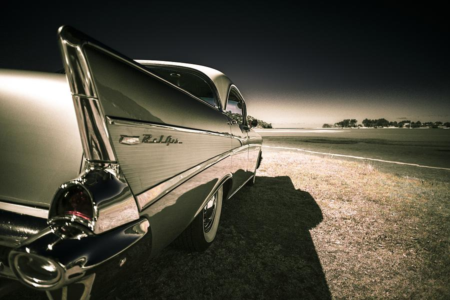 57 Chevrolet Bel Air Photograph
