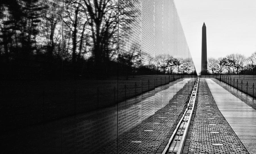 Vietnam Wall Photograph - 58286 by JC Findley