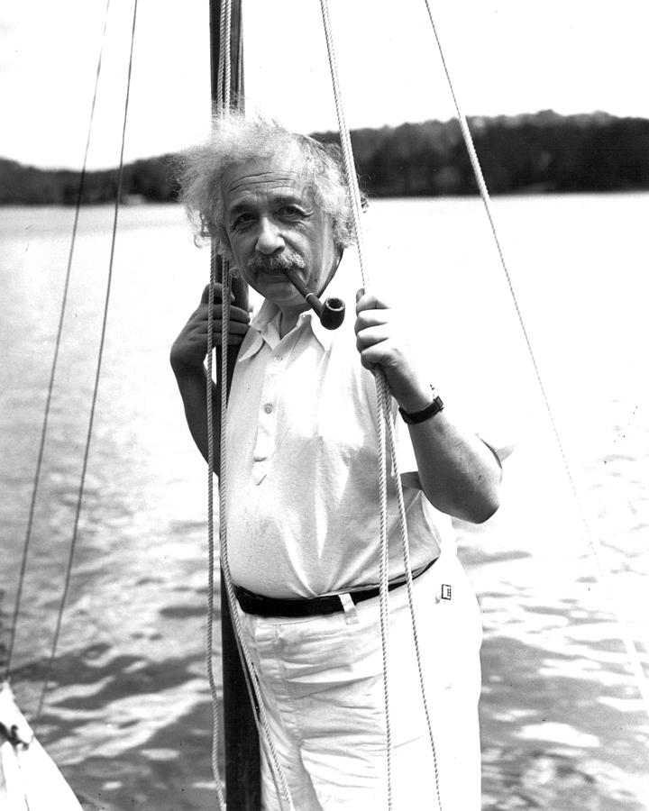 classic Photograph - Albert Einstein by Retro Images Archive