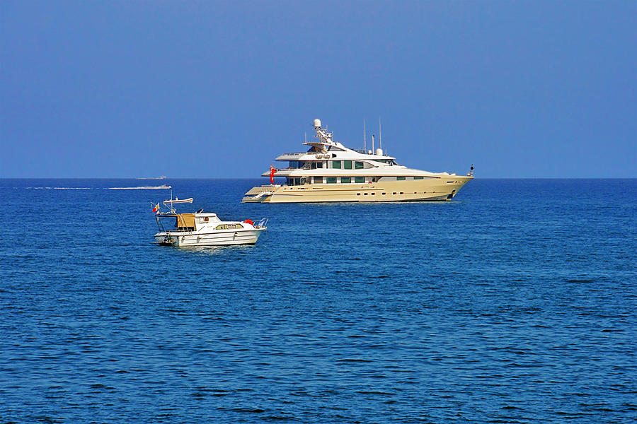 Antibes - Superyachts Of Billionaires Photograph
