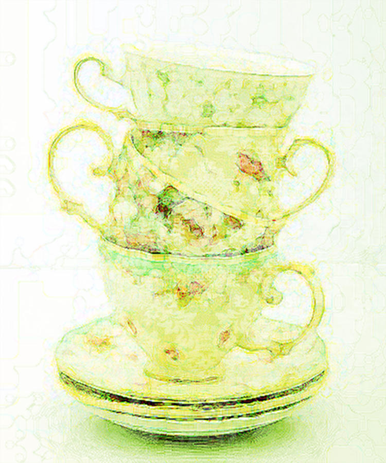 Before Tea Digital Art